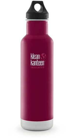 Klean Kanteen Classic Bottle Vacuum Insulated 592 ml w/ Loop Cap Beet Root